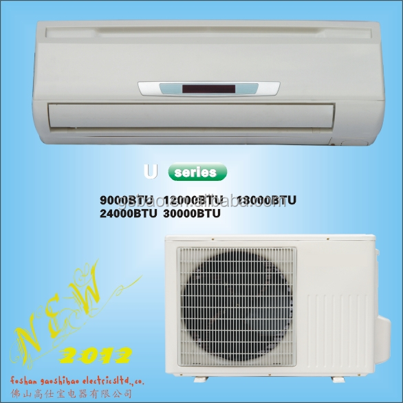 U Series air conditioner specifications