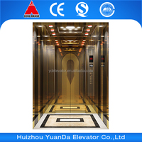 Environmental protection space Passenger elevator of commercial buildings
