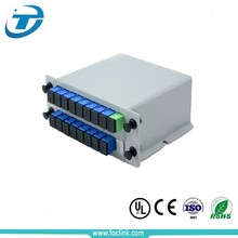 1 8 lgx box plc splitter For GPON EPON PON System