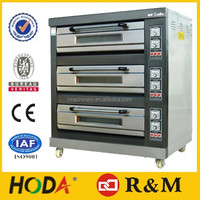 Industrial Pizza Oven Machine 3 Tires,Bakery Industrial Electric Pizza Oven For Sale