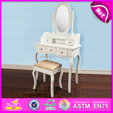Fashion style wooden make up dressing table furniture W08H015-A1