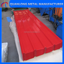 color coated galvanized roof tiles sheet metal prices for sale