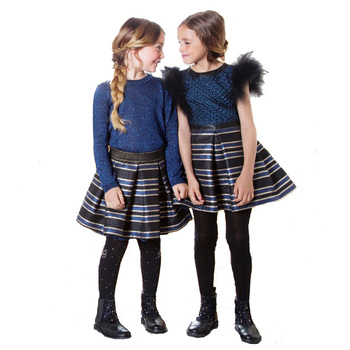 Children clothing factory custom made winter girl skirts latest skirt design pictures