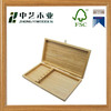 2016 Hot selling factory suppliers customized handmade art minds wooden packaging box for knives