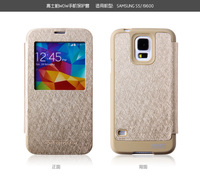 Mercury Goospery View Window Leather Flip Cover Case for Samsung Galaxy s5