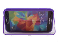 2014 New Double Faced Flip TPU Case for Galaxy S5
