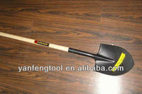 agriculture tools long wooden handle shovel
