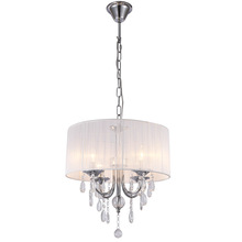 New Design White Crystal Glass Chandelier;Ceiling Crystal Lights 4 Lights