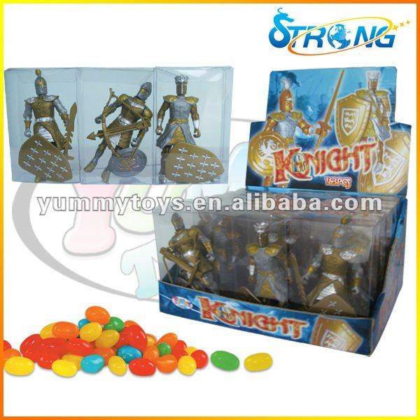 Warrior Armored Knight Character Candy Toy