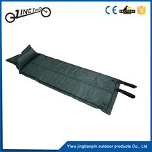 Portable lightweight military folding camping mat blow-up sleeping mattress inflatable air bed