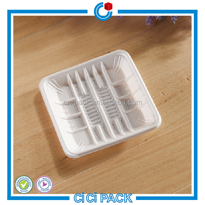 Factory price for sale PVC/PP/PS plastic food packaging box transparent PVC blister inner tray for food