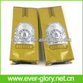 OEM eco-friendly foil plastic valve whole foods organic coffee bags