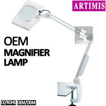 Magnifying Lamp With Clamp T5 /T9 Tube 5X 8X 10X Magnifier (CE)