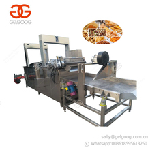 GELGOOG Equipment Continuous Onion Fryer Chin Chin Groundnut Peanut Frying Machine