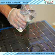 A:B=1:1 Waterproof Epoxy UV Resistant Thermal Two Part Transparent Silicone Sealant for Solar Cells