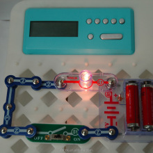 Electronic Snap Circuits with Timer and Clock