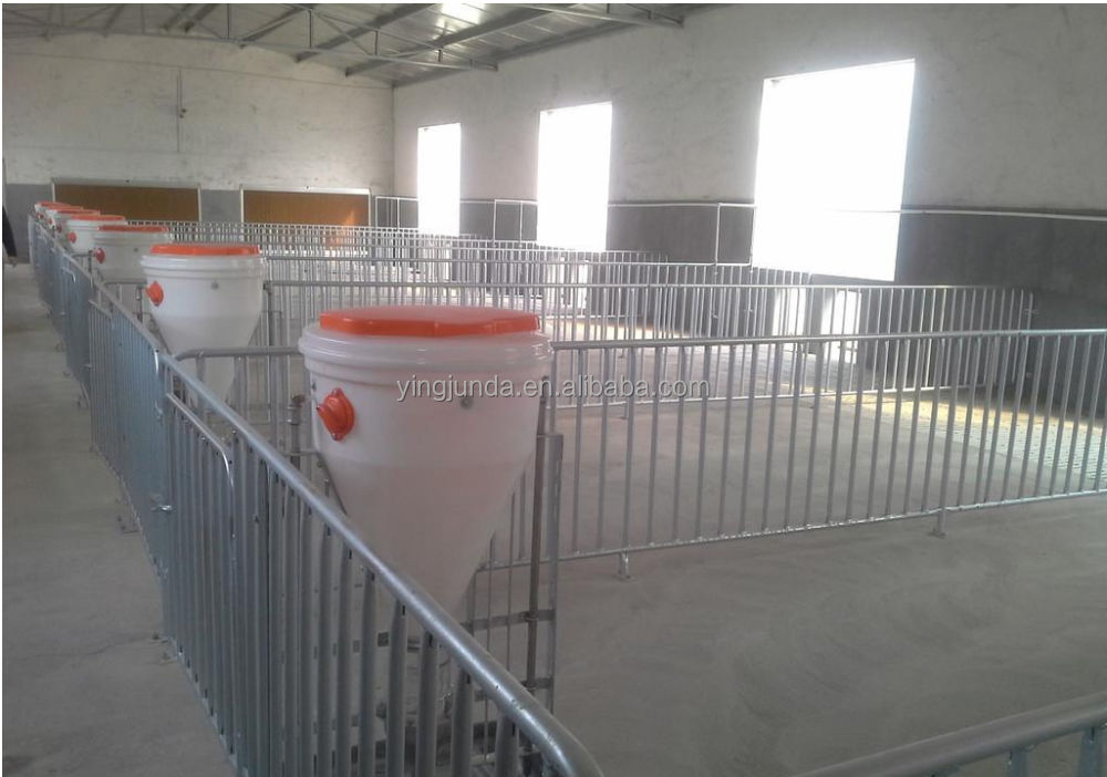 Pig fattening crate agricultural equipment
