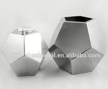 custom outdoor polygonal stainless steel indoor flower planter farming gardening plant pot