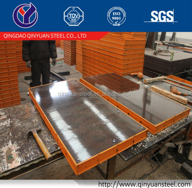 Concrete formwork /steel ply form/building steel formwork profile