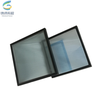 24mm euro grey Soft coated low-e insulating glass for construction & real estate