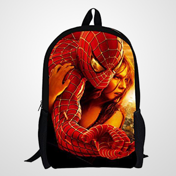 2016 New Style Spiderman Patterns Back to Superman School Bags