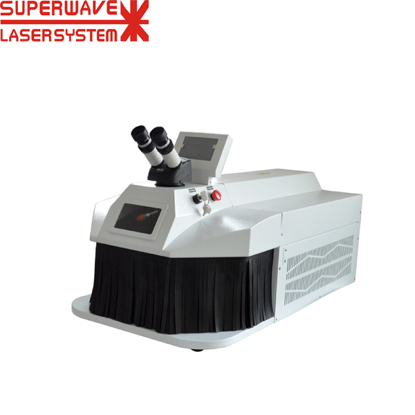 200W Mini Portable Gold Silver Jewelry Spot Laser Welding Machine Price
