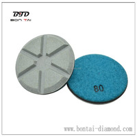 New Products Ceramic polishing pads to remove grinding marks after diamond grinding