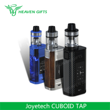100% Original 50A 228W 4ml Joyetech CUBOID TAP Kit rechargeable electronic cigarette hookah