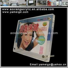 Popular new transparent Acrylic photo frame