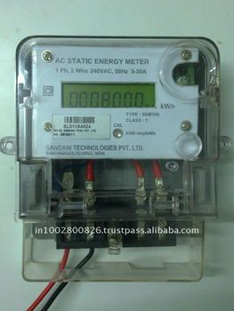 Single Phase AC static energy meter