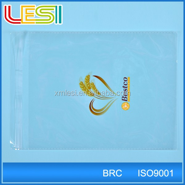 printed small decorations packing opp self adhesive plastic bag