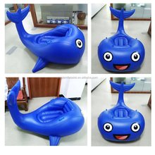 2018 Newest custom design giant water park equipment inflatable beach toy inflatable whale float for adults