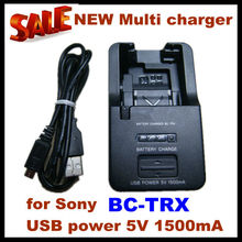 2012 NEW Multi camera Charger BC-TRX For Sony Type X/N/G /D/K