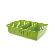 Household Kitchen accessory Plastic PP Storage Container Box With Dividers