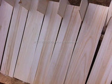 paulownia edge glued panels/timber supplies