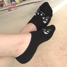 Women hot selling cotton socks with animal cute design