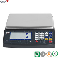 CM-15 CE Approved Digital Balance Weighing Scales - 15kg / 1g