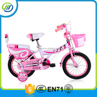 BMX bicycle children bicycle kids bicycle with back rest basket and tool box