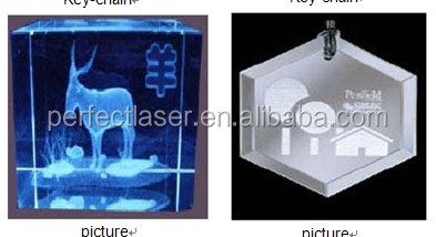 Acrylic Glass Crystal 3d portrait crystal cube laser engraving machine for Personalization