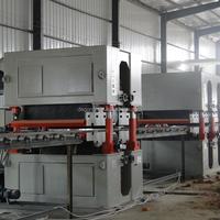 woodworking panel floor plywood mdf particle board wide belt edge sander polishing machinery