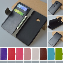 Original J&R Brand High Quality Flip Leather Case for HTC One dual sim 802t 802w 802d Cover with Stand and Card Holder