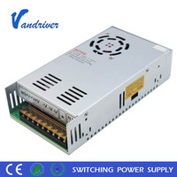 Variable Voltage Led Driver 110V AC 12 Volt DC 400 Watt 33 Amp S-400-12 Uninterrupted Switching Power Supply