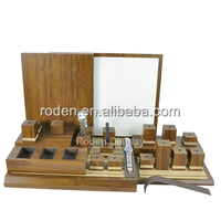 MDF/wooden watch display stand,counter top watch display