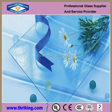 Thriking Glass 2015 new style safety 8mm 10mm 12mm tempered glass for commercial buildings