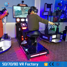 VR Interactive Virtual Reality horse riding simulator for sale as a deluxe 42inch screen cabinet