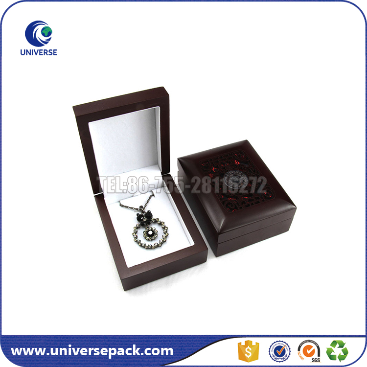 customize size lacquer wood box for jewelry display