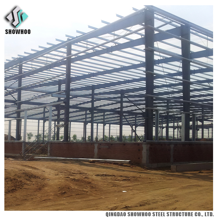 Steel structure industrial shed designs cost of warehouse construction