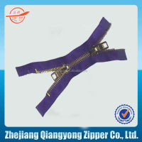 #5 two open zip custom length for garment