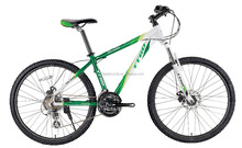 TTGO MC300-GN alluminium alloy mountian bicycle, 26 inch 21 speed MTB bike made in china, front suspension mountain bicicletas