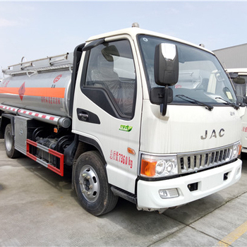 JAC 5000L capacity oil tanker truck fuel tanker truck for sale